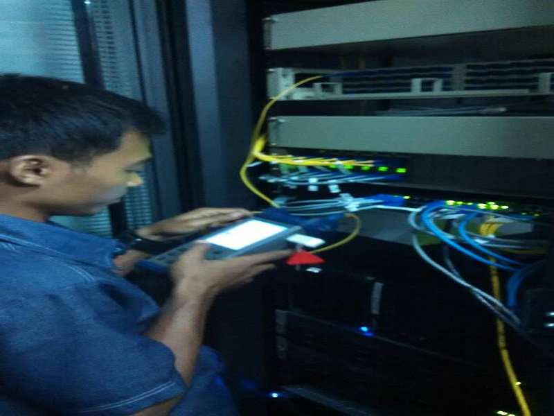 Jasa Test OTDR Fiber Optik